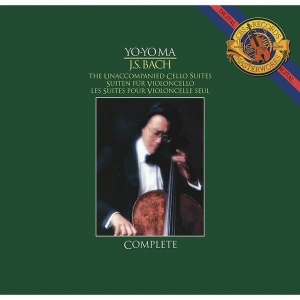 Yo-Yo Ma, J.S. Bach - Unaccompanied Cello Suites | 3LP 180g