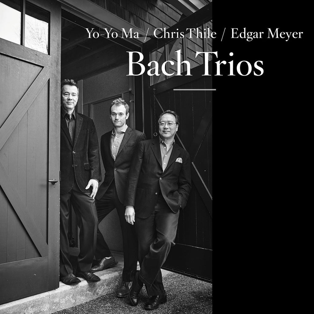 Yo-Yo Ma, Chris Thile, Edgar Meyer ‎– Bach Trios