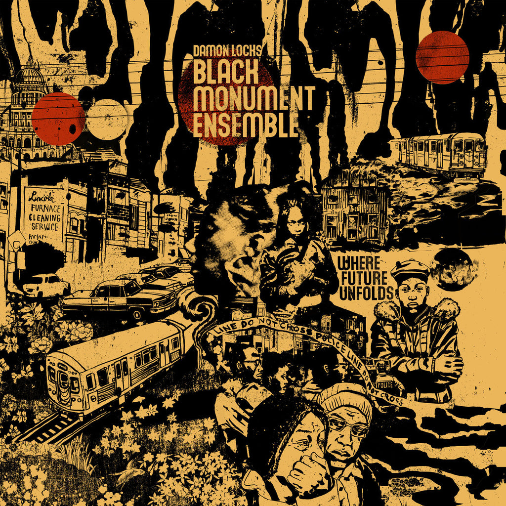 Damon Locks Black Monument Ensemble ‎– Where Future Unfolds