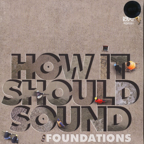 Damu The Fudgemunk ‎– How It Should Sound: Foundations (Rare Unreleased Demos & Alt Mixes From HISS Volumes 1 & 2)