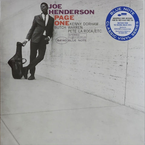 Joe Henderson ‎– Page One | Classic Vinyl Series