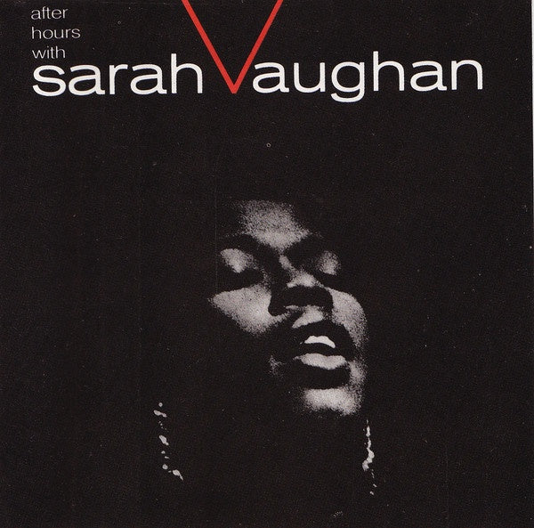 Sarah Vaughan ‎– After Hours With Sarah Vaughan