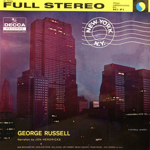 George Russell And His Orchestra ‎– New York, N.Y.