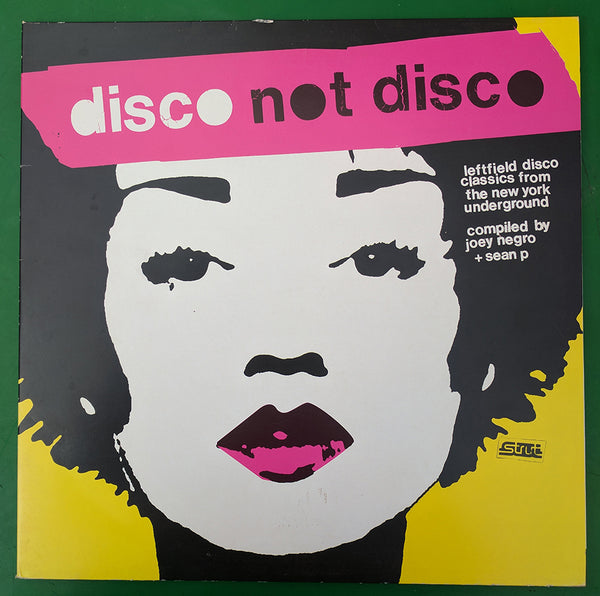 Various Artist – Disco Not Disco (Leftfield Disco Classics From The New York Underground)