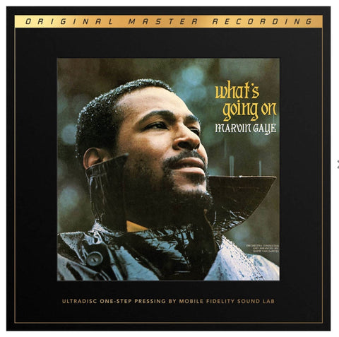Marvin Gaye ‎– What's Going On | 45 RPM | MOFI