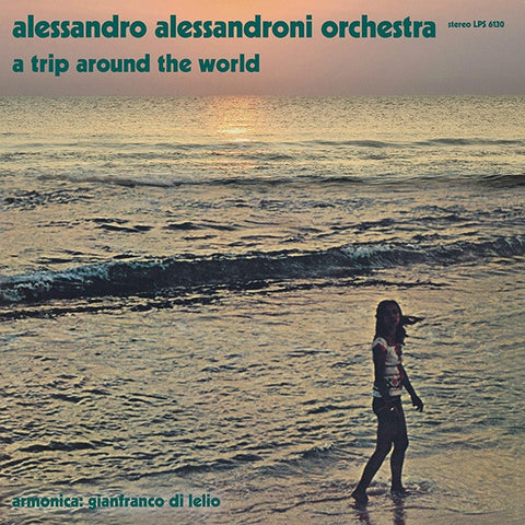 Alessandro Alessandroni Orchestra ‎– A Trip Around The World