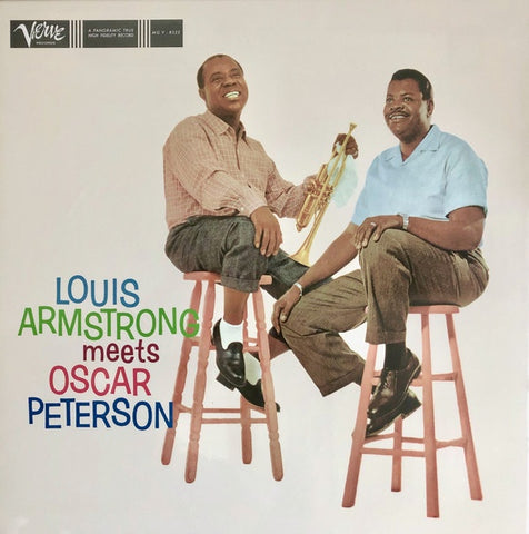 Louis Armstrong, Oscar Peterson ‎– Louis Armstrong Meets Oscar Peterson