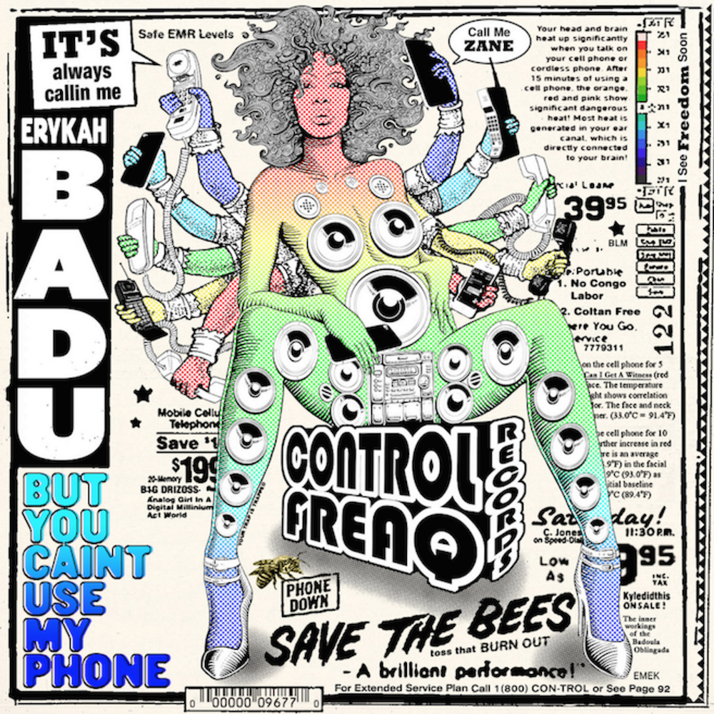 Erykah Badu ‎– But You Caint Use My Phone | RSD2016