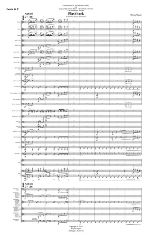Flashback (conductor's score only)