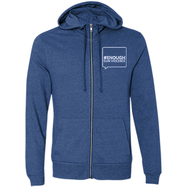 Twibbon Logo Men's French Terry Full Zip