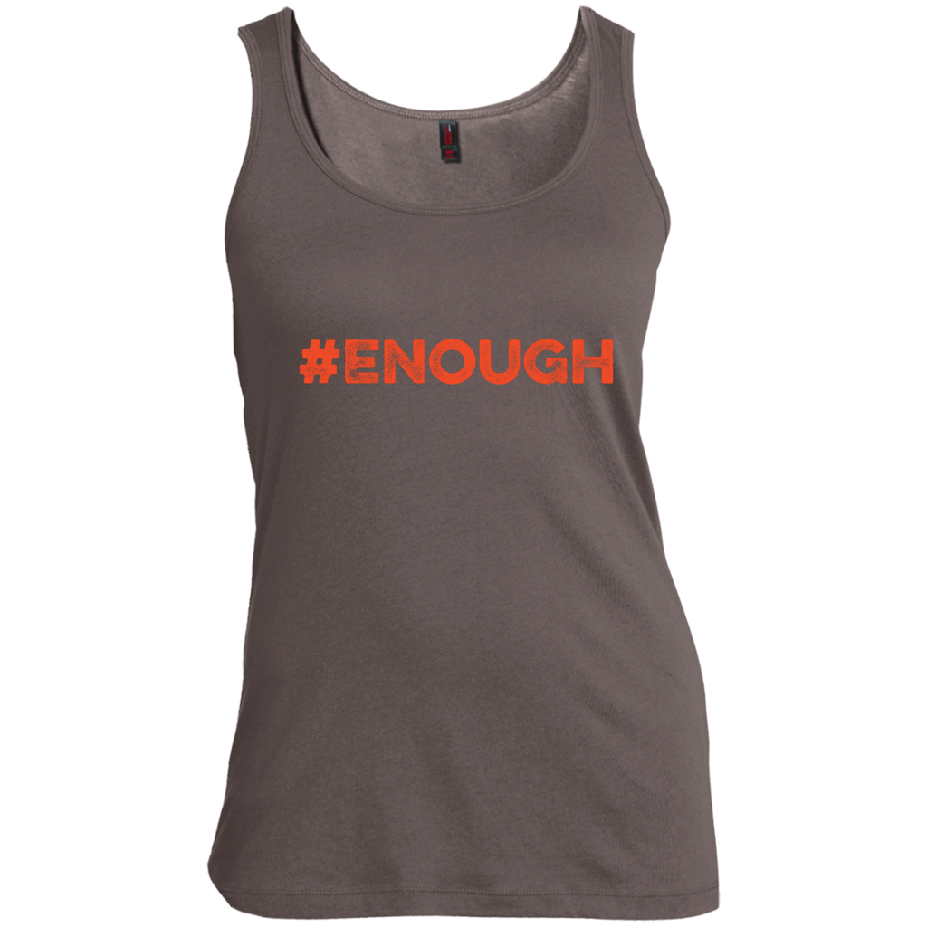 Enough Orange Women's Scoop Neck Tank Top