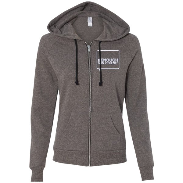 Twibbon Logo Ladies' French Terry Full Zip