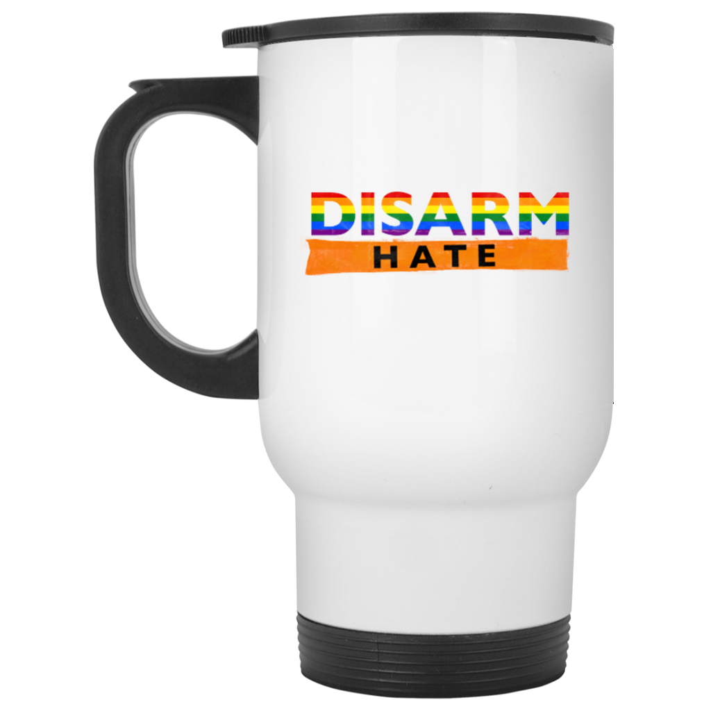 Disarm hate-Travel Mug