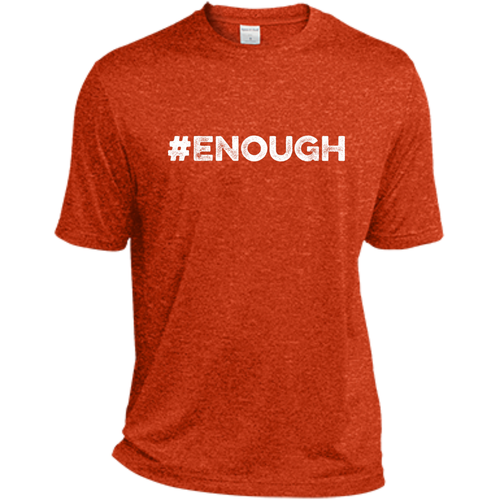 #Enough White Dri-Fit Tee