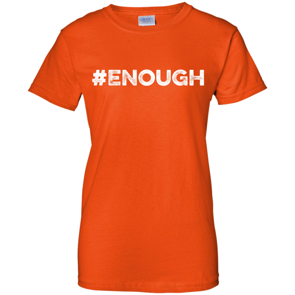#Enough White Cotton T-Shirt