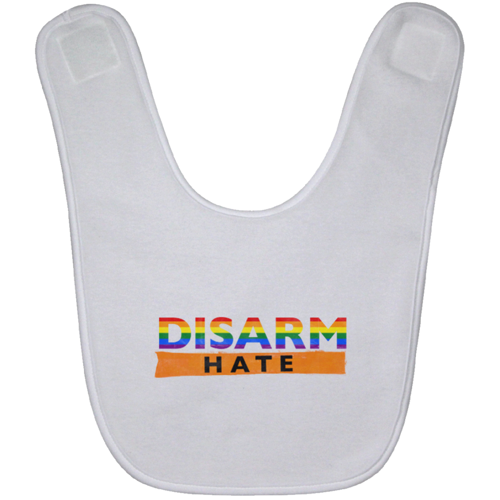 Disarm hate-Baby Bib