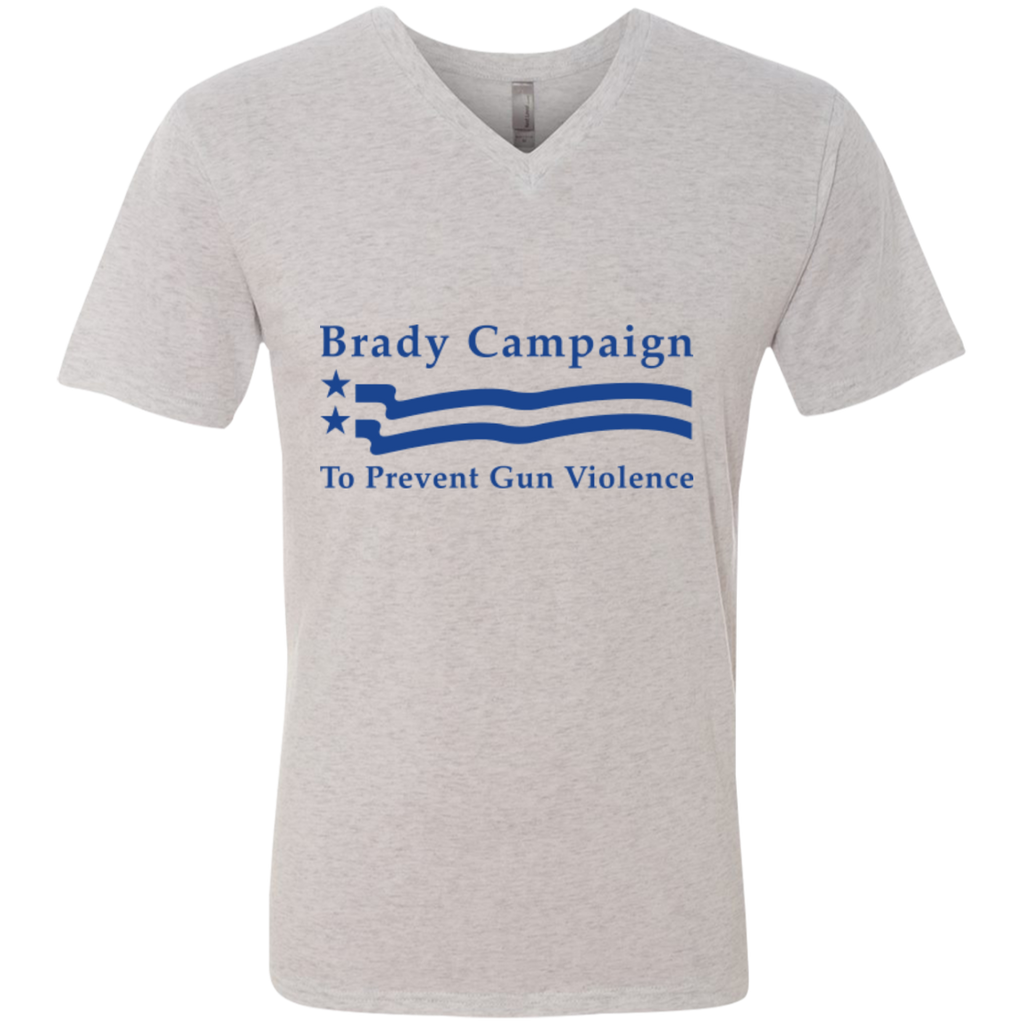 Men's Brady Campaign Triblend V-Neck Tee