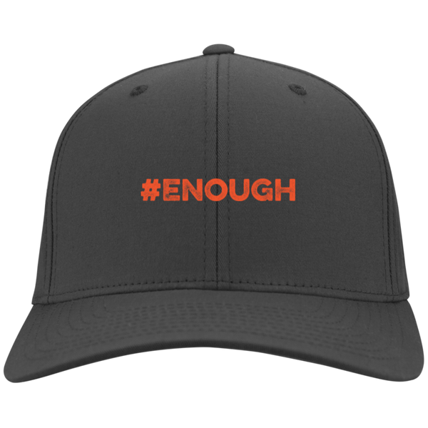 Enough Orange Twill Cap