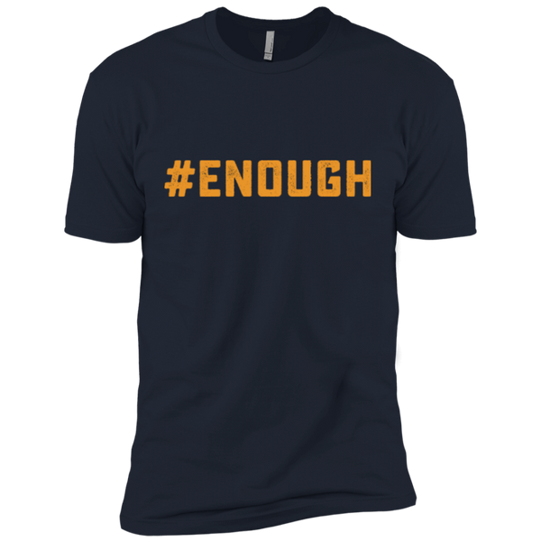 Enough Logo Next Level Premium Short Sleeve Tee