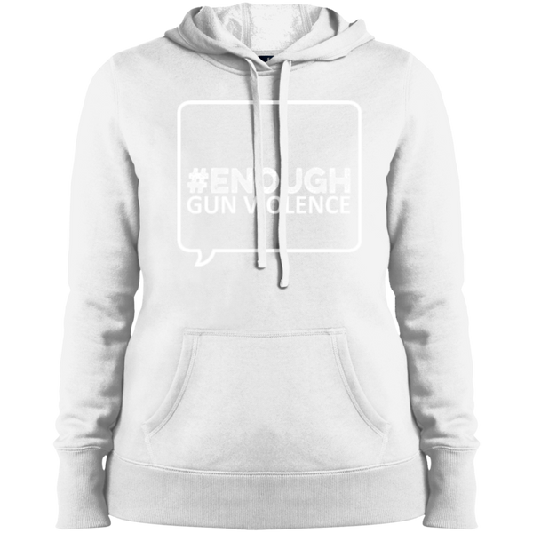 Twibbon Ladies Pullover Hooded Sweatshirt