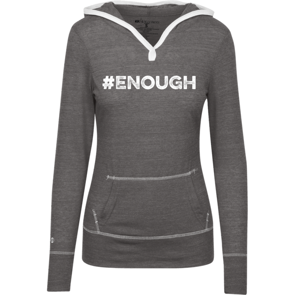 #Enough - Junior Lightweight T-Shirt Hoodie