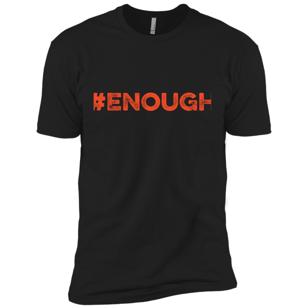 #Enough Orange Next Level Premium Short Sleeve Tee