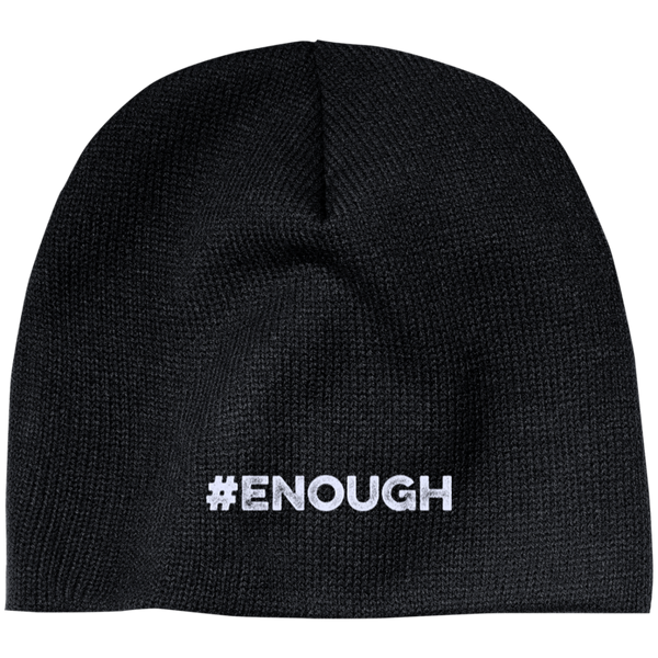 #Enough -  Beanie