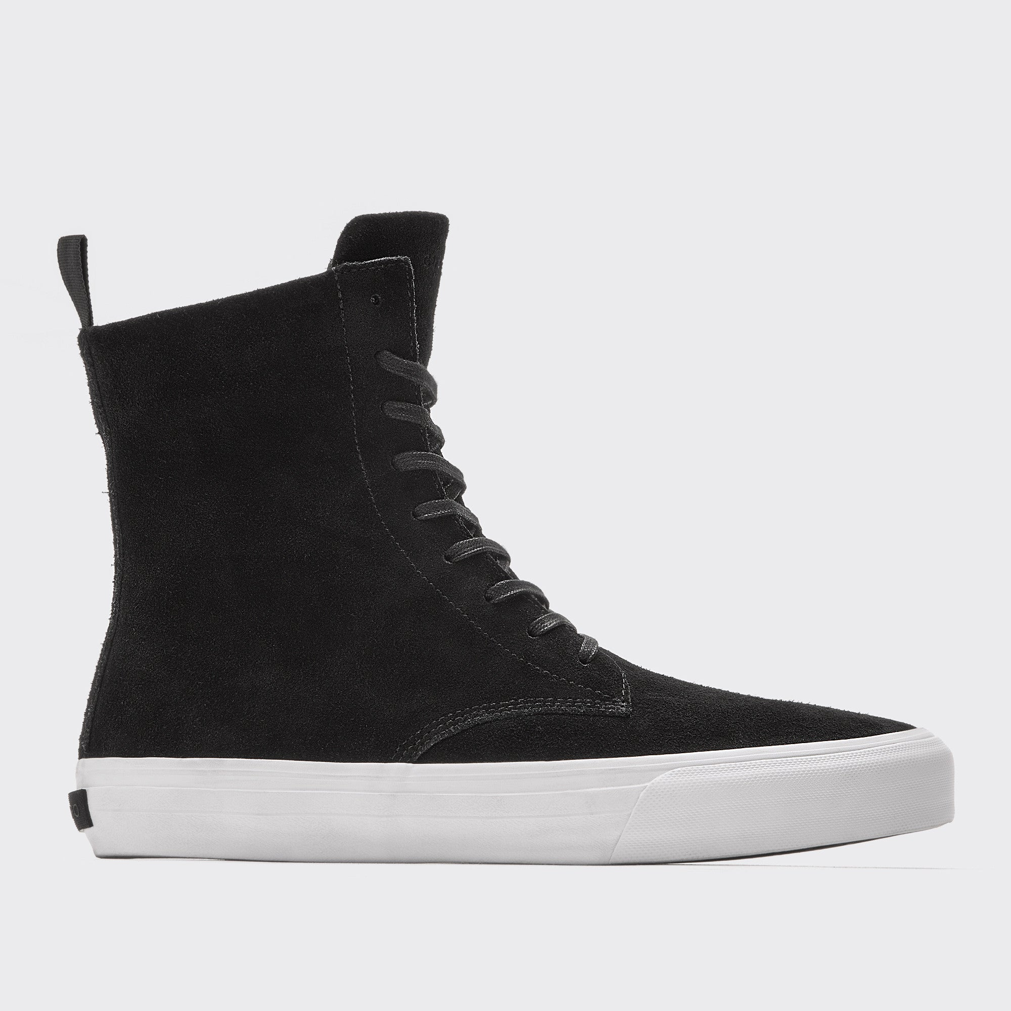 SCOUT | BLACK - Black Suede Extra High