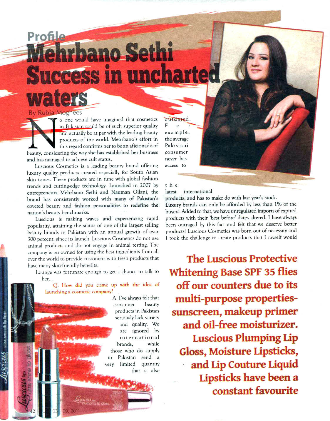 Pakistan Lounge Magazine- 2011