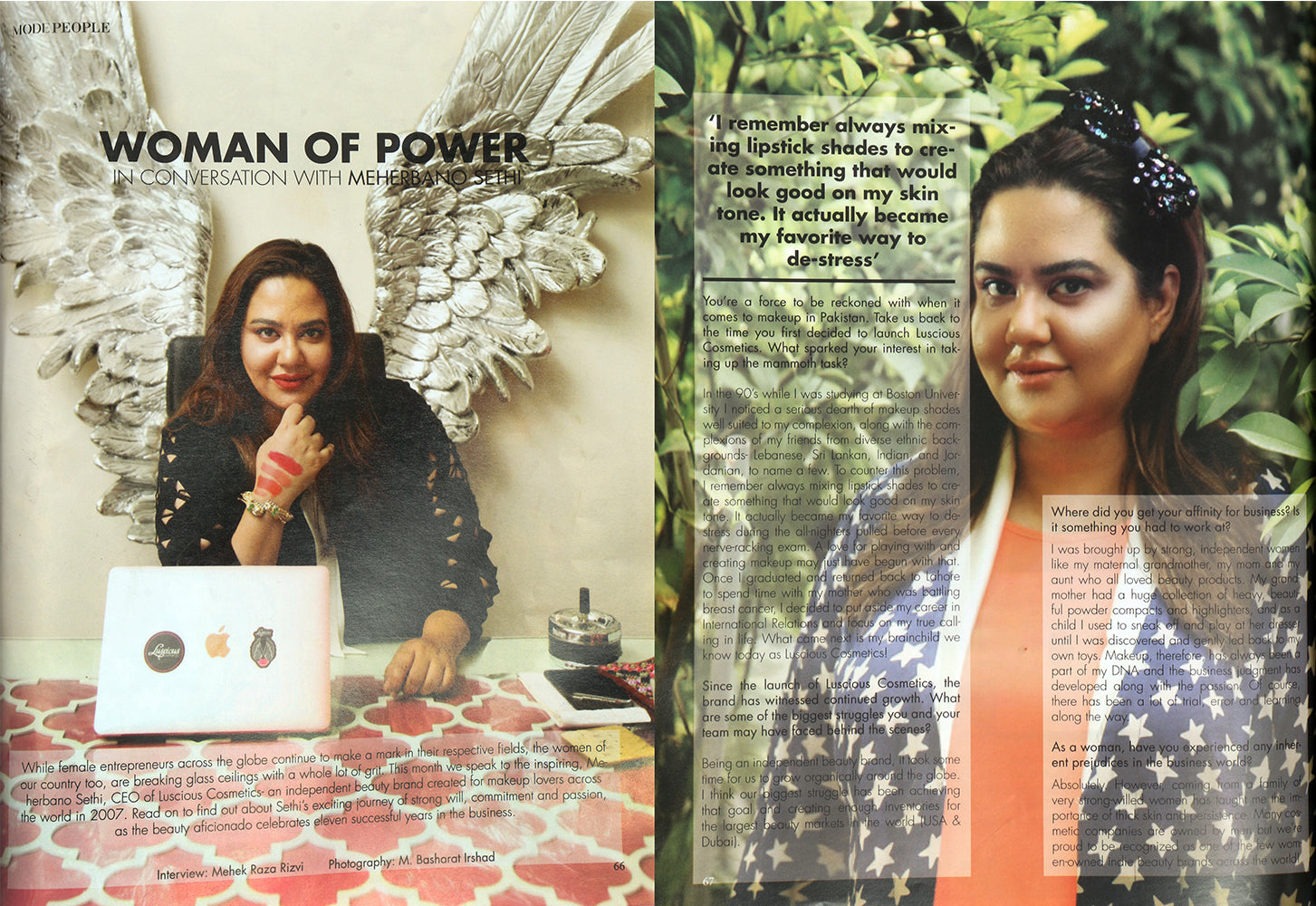 Mode Magazine - Woman Of Power