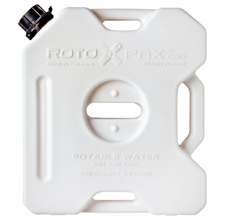 RotoPax 1.75 Gallon Water Pax container