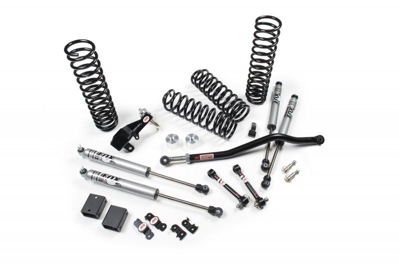 JKS Jeep JK 2.5 Inch J-SPEC Suspansion System Standard Shocks