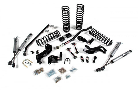 JKS Jeep JK 3.5 Inch J-Kontrol Suspension System Standard Shocks