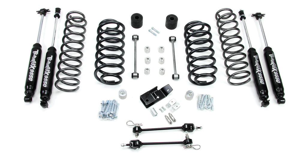 "TeraFlex jeep TJ/LJ 3"" Lift Kit w/ 9550 Shocks"