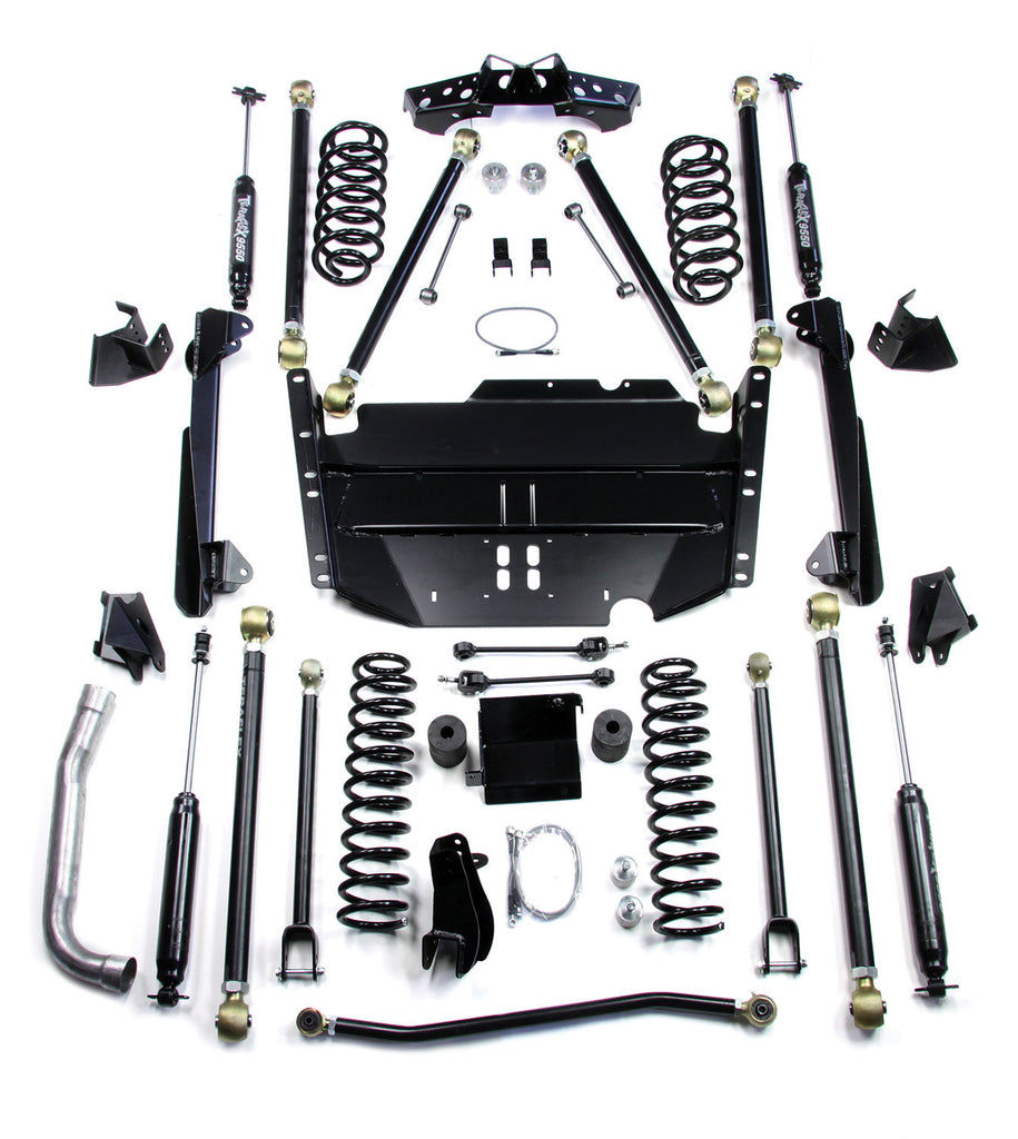 "TeraFlex Jeep TJ 4"" Pro LCG Long Flexarm Suspension System w/ 9550 Shocks"