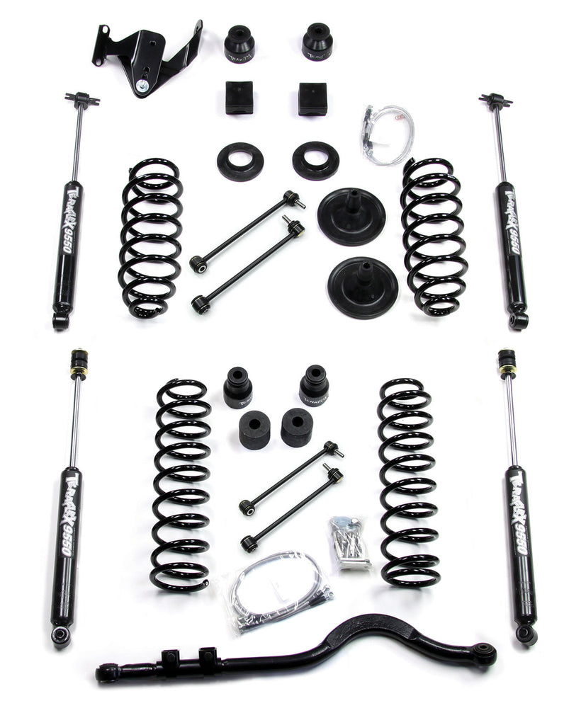 TeraFlex Jeep JK 4 inch Lift Kit w/ Shocks & Front Trackbar