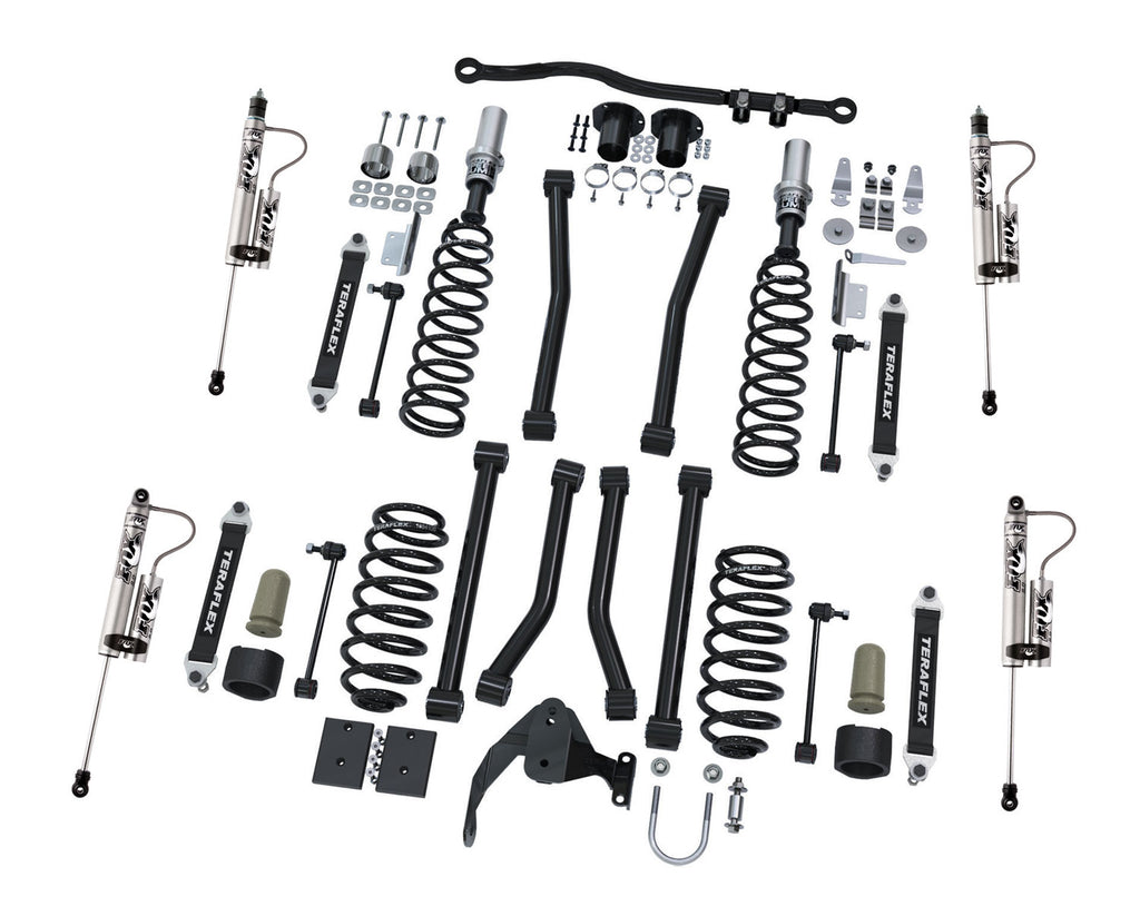 TeraFlex Jeep JK 3 Inch Sport S/T3 Suspension System w/ Fox Shocks