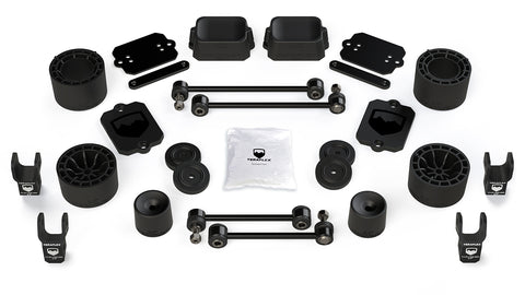 "TeraFlex Jeep JLU / JL Sport/Sahara: 2.5"" Performance Spacer Lift Kit & Shock Extensions"