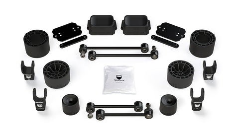 "TeraFlex Jeep JLU / JL Rubicon: 2.5"" Performance Spacer Lift Kit & Shock Extensions"