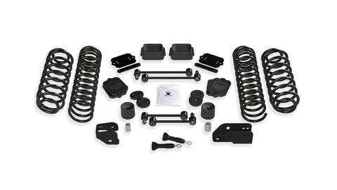 "TeraFlex Jeep JLU / JL 4.5"" Coil Spring Base Lift Kit - No Shock Absorbers"