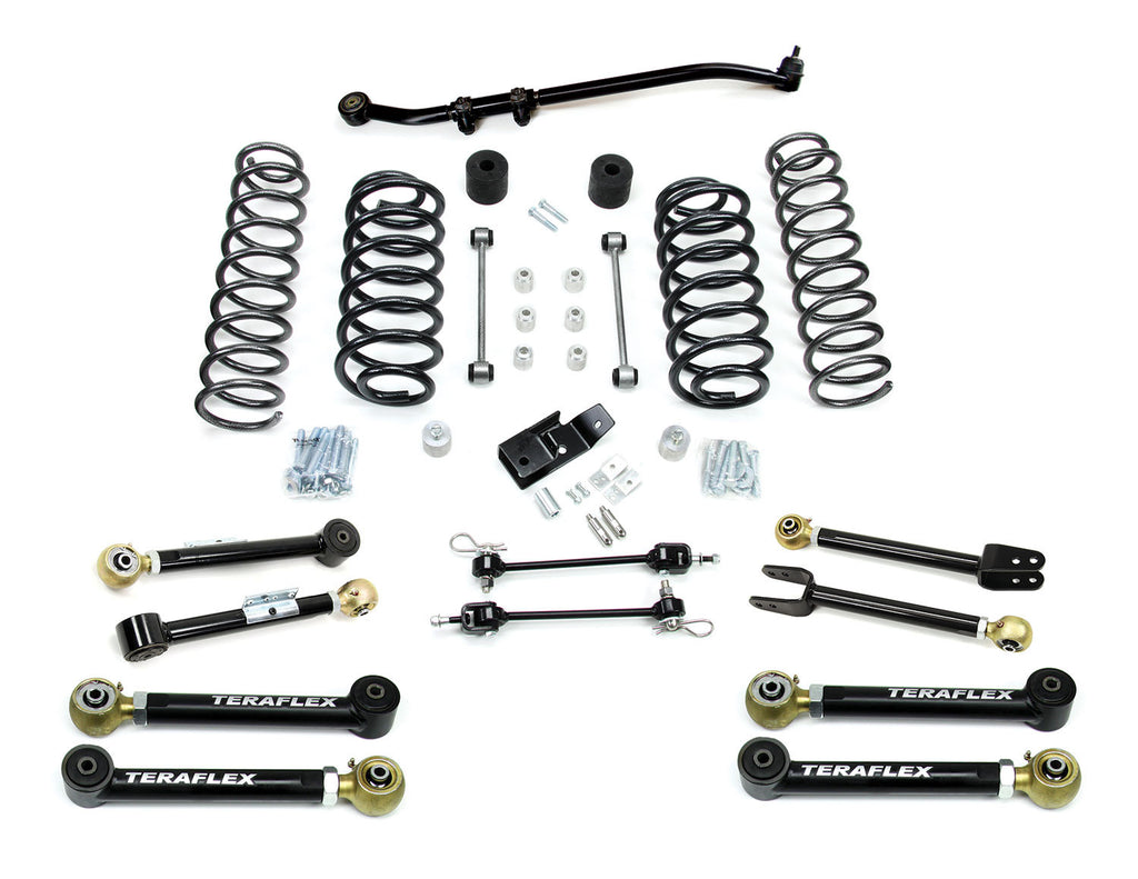 "TeraFlex Jeep TJ 3"" Lift Kit w/ 8 FlexArms & Trackbar"