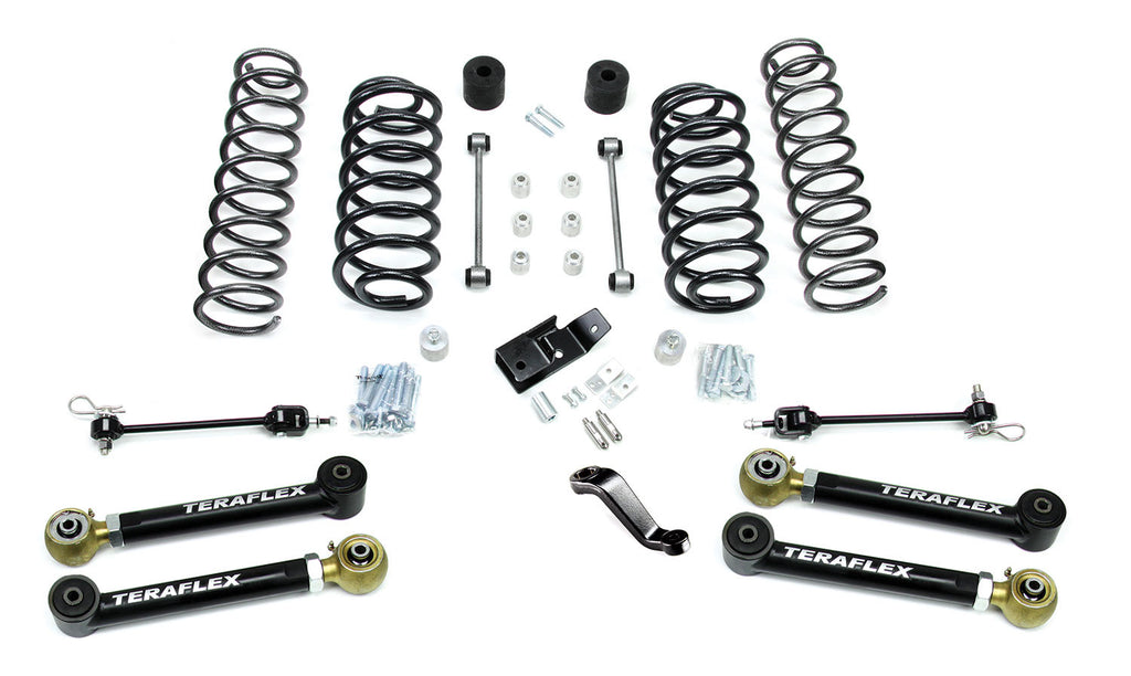 "TeraFlex Jeep TJ/LJ 4"" Suspension System w/ 4 Flexarms - No Shocks"