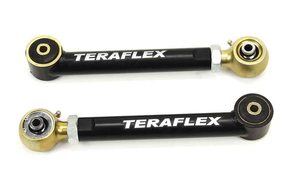 "TeraFlex Jeep TJ/LJ–ZJ–XJ: Control Arm Kit - Lower Adjustable (0-4"" Lift)"