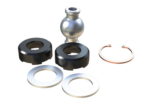 TeraFlex Jeep TJ / LJ / JK Small Front Upper Adjustable FlexArm Joint Rebuild Kit- Frame End