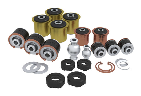 TeraFlex Jeep TJ/LJ Complete Short Flexarm Joint Rebuild Kit - 8 Arms