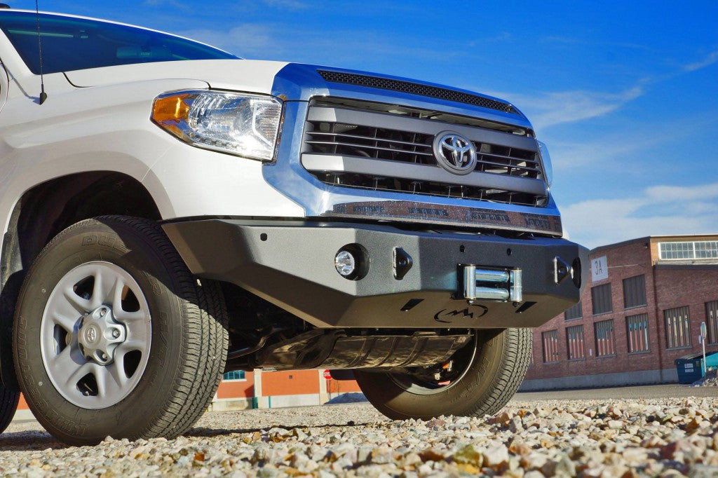 Expedition One 2014+Toyota Tundra Front Basic Bumper