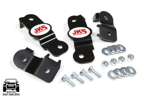 JKS Jeep JK Brakeline Relocation Brackets