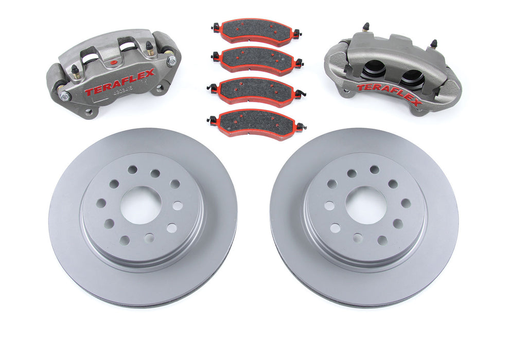 TeraFlex Jeep JK Front Big Brake Kit