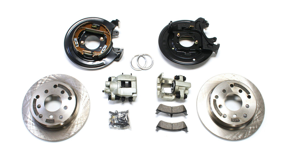 TeraFlex Ford Rear Disc Brake Conversion Kit