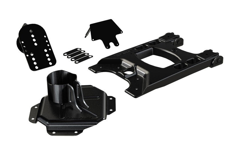 TeraFlex Jeep JK HD Hinged Carrier & Adjustable Spare Tire Mounting Kit